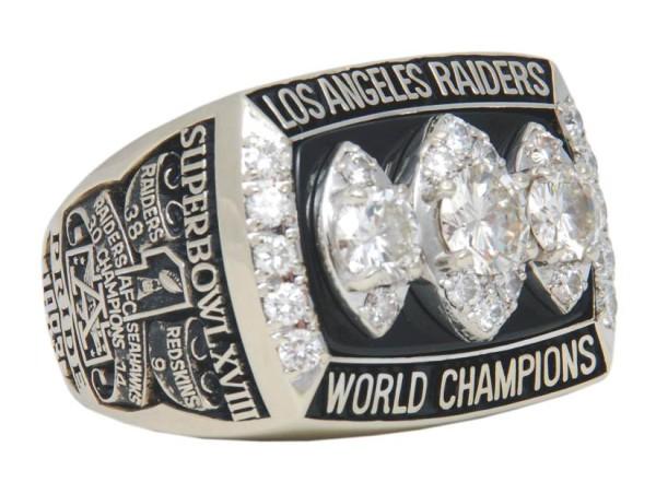Raiders SuperBowl 1984 ring