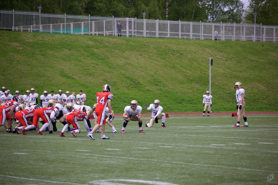 North Legion special team on 1-point realization