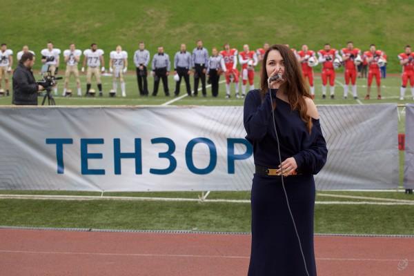Гимн России на матче исполнялся вживую