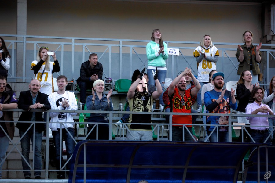 Moscow Spartans supporters