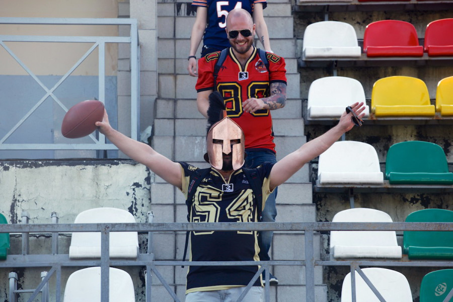 Moscow Spartans supporter