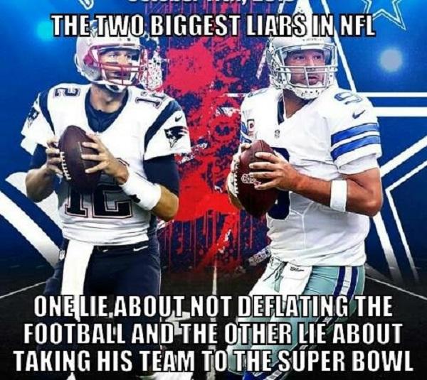 Romo Brady Meme deflategate