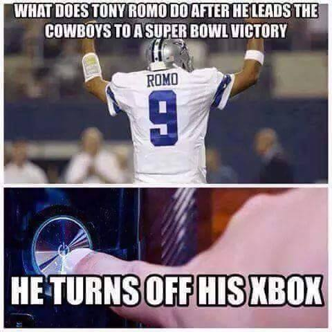 Tony Romo Meme