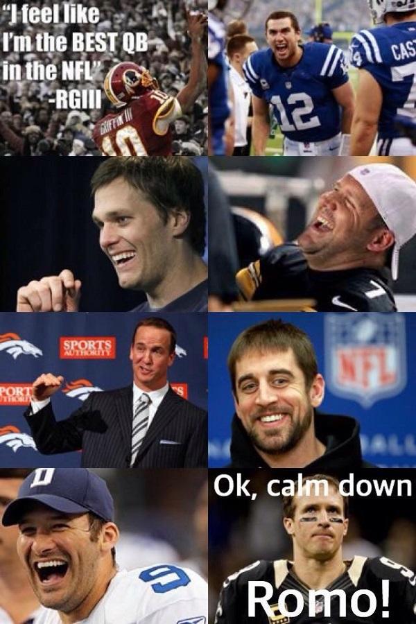 RGIII Romo Meme