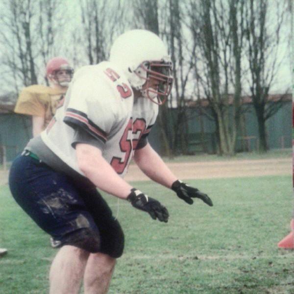 Конец 1990-х. Молодой и перспективный футболист Александр Симанчев