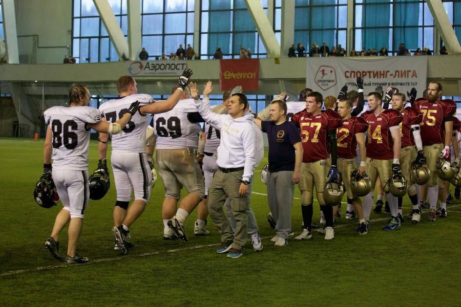 November 7, 2015 / Saint Petersburg, Russia / Teams after the game / © First&Goal (firstandgoal.ru) / Yuriy Marin