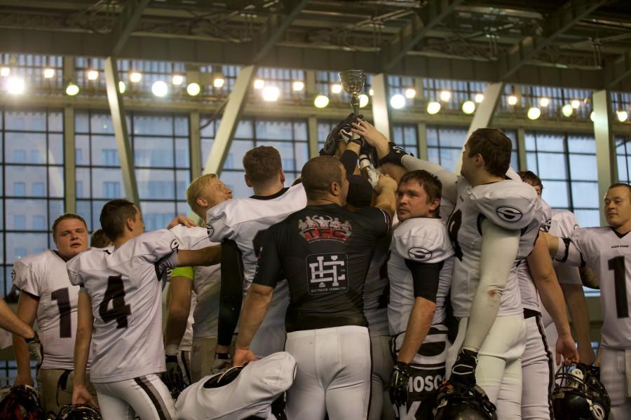 November 7, 2015 / Saint Petersburg, Russia / Black Storm with the cup / © First&Goal (firstandgoal.ru) / Yuriy Marin