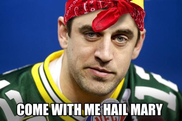 hail mary rodgers meme