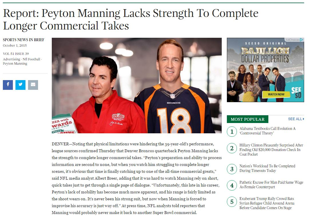 The onion Payton manning meme 6