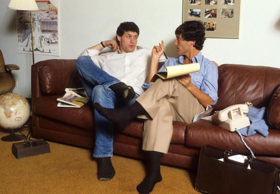 Стайнберг и Стив Янг в 1984-м. Photo: Mickey Pfleger/Sports Illustrated