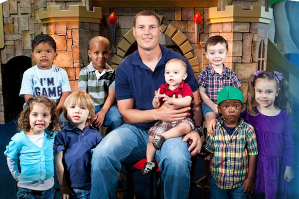 Philip Rivers and kids