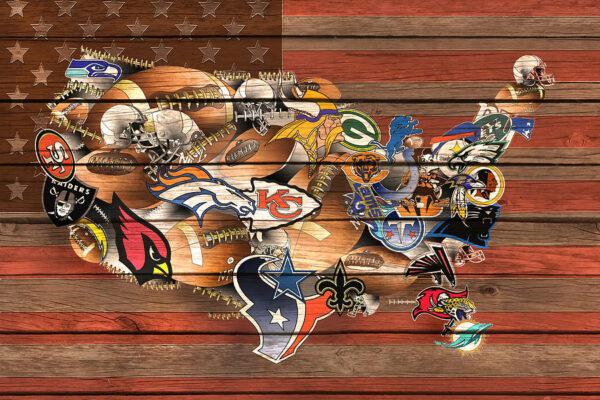 NFL Map